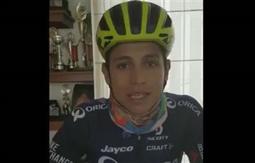 Esteban Chaves: la invitación para que Bogotá salga en bicicleta