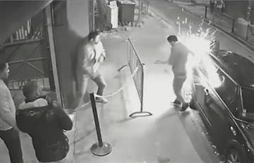 Cigarrillo electrónico explota en el bolsillo de un hombre