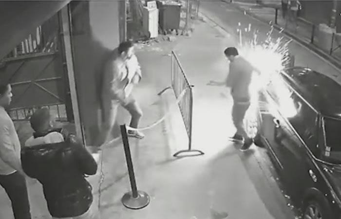 Cigarrillo electrónico explota causando quemaduras a un hombre. Foto: Youtube