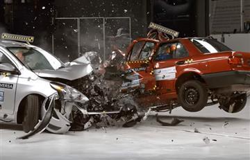 Youtube: Esto pasa cuando chocan los dos coches más económicos
