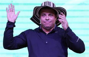 En FOTOS, lo que no se vio de la visita de Ronaldo a Bogotá