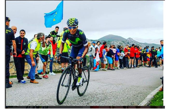 Nairo Quintana, imagen principal del Movistar Team