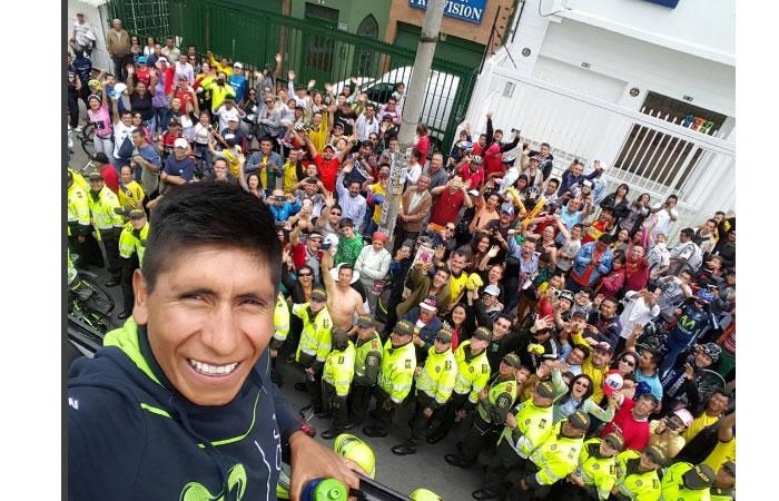 Nairo Quintana vuelve a Tunja por esta razón