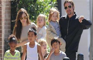 Brad Pitt en disputa por la custodia de sus hijos