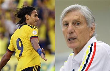 """Pékerman: """"Estoy contento con el regreso de Falcao a la Selección Colombia"""""""