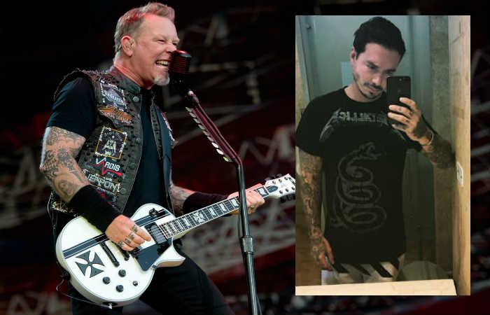 Cantante de Metallica se burló de J Balvin