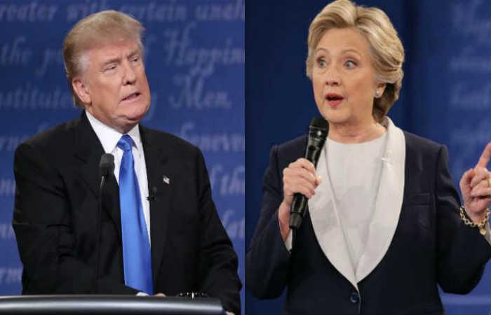 Trump y Clinton: Encuestas anuncian un empate