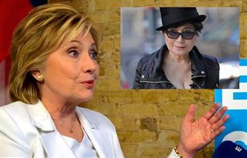 ¿Hillary Clinton tuvo una relación con la esposa de John Lennon?