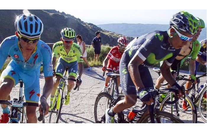 Miguel Ángel López, cabeza a cabeza con Nairo Quintana y Chris Froome