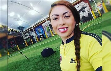Selección Colombia: ¿Epa Colombia cantando el himno en el partido?