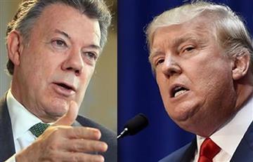 Donald Trump: Santos felicita al nuevo presidente