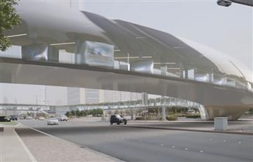 Dubai al estilo de 'Futurama'