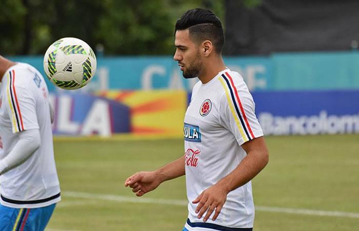 Falcao García volvió a entrenar con la Selección Colombia
