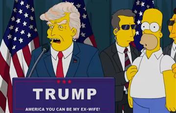 Los Simpson y el capítulo que predijo la victoria de Donald Trump