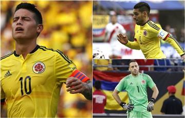 Selección Colombia: Vota acá ¿Quién debe ser el capitán?