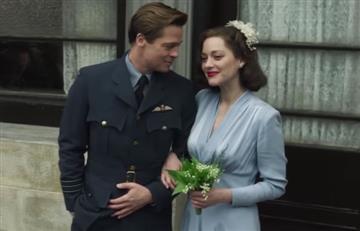 Brad Pitt vuelve de la mano de Marion Cotillard