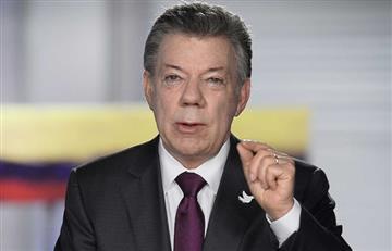 """Diálogos de paz: """"Se han presentado momentos de tensión"""", Santos"""