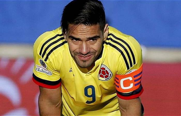 Falcao García volvió a una selección Colombia sin argumentos ante Chile