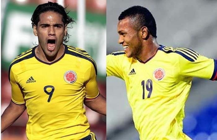 Falcao García y Miguel Ángel Borja deben ser titulares con Colombia