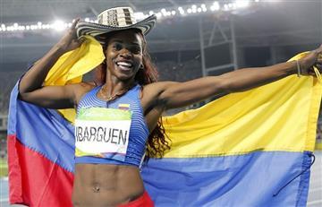 Caterine Ibargüen es la deportista del año en Colombia.com
