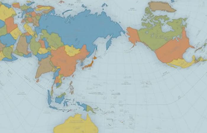 Este es el mapa que muestra cómo es el mundo realmente