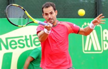Santiago Giraldo sigue pisando duro en el Challenger de Bogotá