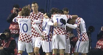 Croacia líder solido del grupo I