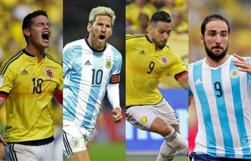 Argentina vs. Colombia: estos han sido sus últimos encuentros