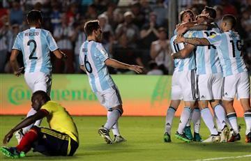 La selección Colombia revivió a Argentina