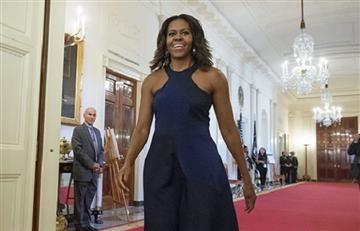 """Michelle Obama fue tildada de """"simio en tacones"""""""