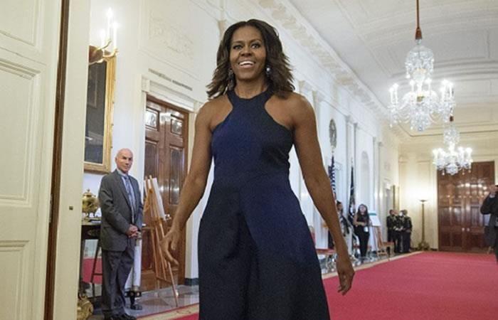 Michelle Obama fue tildada de 'simio en tacones'