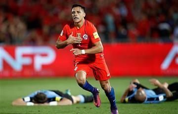 Chile saca las garras ante Uruguay