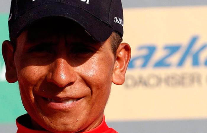 Nairo Quintana es oficialmente nominado a este premio