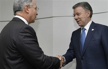 Uribe dejó ver su lado noble tras el estado de salud de Santos