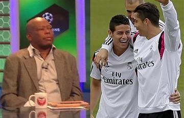"""""""A James le perjudica su amistad con Cristiano Ronaldo"""": 'Tino' Asprilla"""