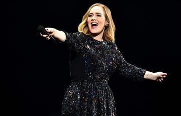 Adele y el gran susto que se llevó durante su concierto en México