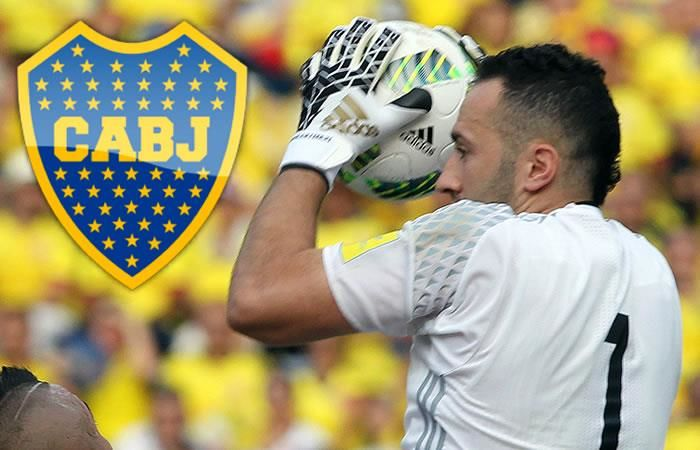 ¿David Ospina a Boca Juniors?
