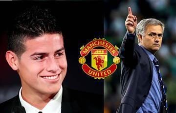 James Rodríguez: la razón por la que llegaría al Manchester United