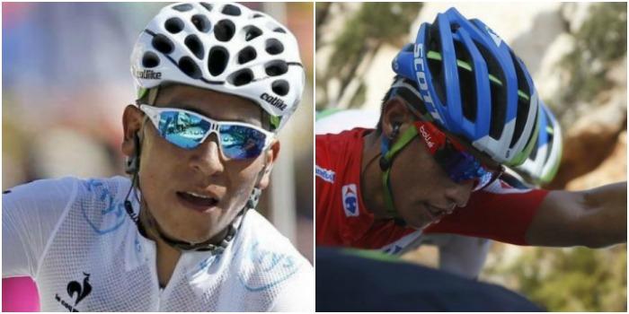 Nairo Quintana y Esteban Chaves en el top 5 de los mejores ciclistas del año