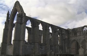 Fantasma aparece en foto de un monasterio abandonado