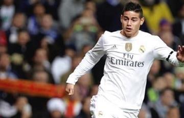 James Rodríguez confirmado para jugar contra el Atlético de Madrid