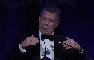 Santos recibió la aprobación de la OEA por el acuerdo de paz