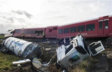Tragedia: Tren se descarriló en Holanda