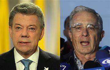 Santos y Uribe por fin de acuerdo