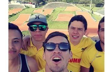 Carlos Oquendo: La excelente noticia que recibió el deportista colombiano
