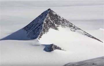 Antártida: Pirámide sería una base alienígena