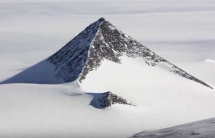 Pirámide inquieta a teóricos de la conspiración. Foto: Youtube