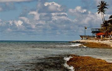 San Andrés en la mira de tormenta que ahora es huracán