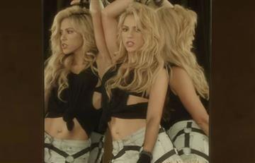 Shakira causa curiosidad por una parte de su cuerpo en el vídeo 'Chantaje'
