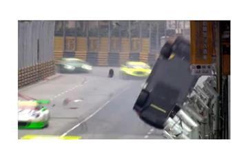 Youtube: Gana carrera debido a un tremendo accidente que sufrió